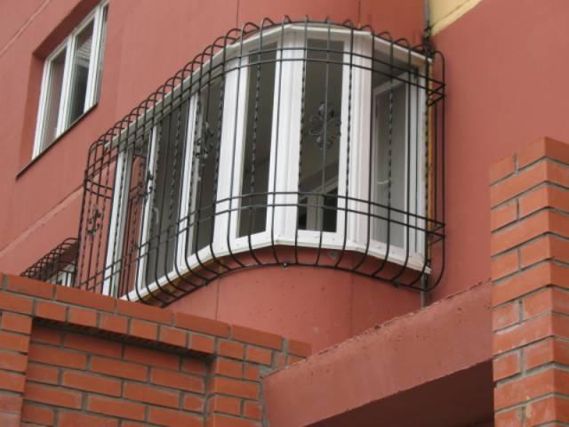 Решетки на балкон.